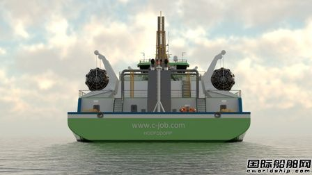 C-Job推出小型多功能LNG加注船概念设计