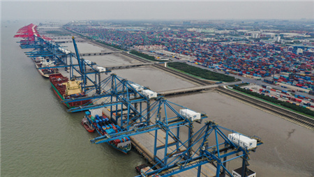 六个第一看上海智能航运开启加速跑