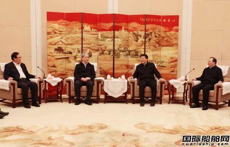中国船舶集团与江苏省人民政府签署战略合作协议