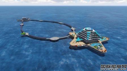 """中国船舶集团与山东海洋集团战略合作将建造""""耕海1号""""二期"""