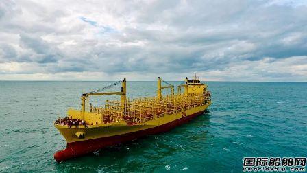 中船澄西1号910冷藏集装箱船试航凯旋