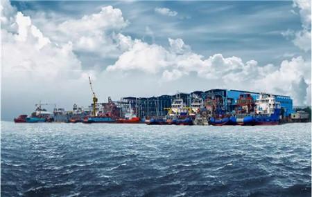 粤新海工成功签约51米抓斗船建造合同