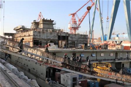 渤船集团深海装备综合试验船完成重大节点