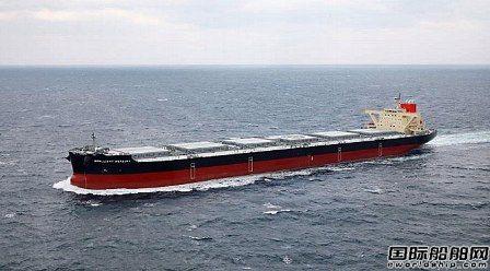 名村造船交付第二艘10万吨宽体浅吃水散货船