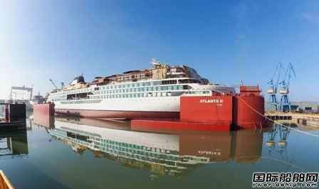 VARD建造维京游轮首艘探险邮船顺利出坞