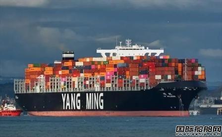 阳明海运利润暴涨单月获利超过去10年总和
