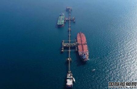 """伊拉克成功拆除""""POLA""""号油轮上的水雷"""