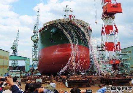 三井E&S造船去年下水12艘完工14艘