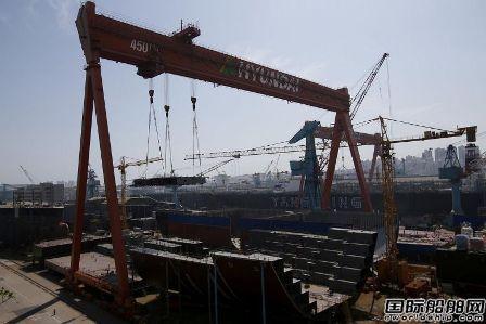 钢价上涨!韩国船企忧心接单竞争力将下降