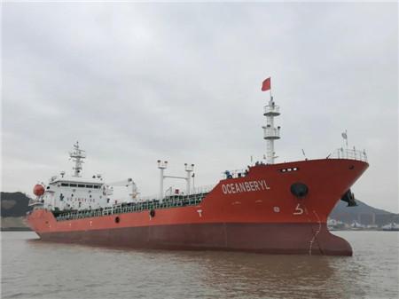 丰祥船舶交付一艘6000DWT沥青船