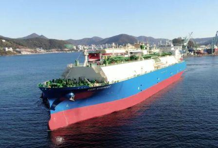 """全球最大乙烷运输船""""Seri Everest""""号首航抵达美国"""