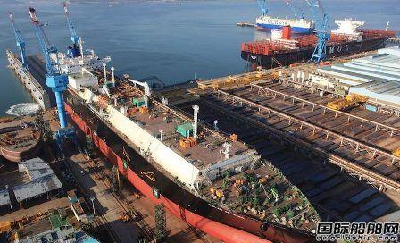"""大反转?韩国造船业全年接单量""""再""""超中国"""