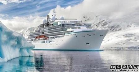 """全球最大专业极地探险邮轮""""水晶奋进""""号计划今夏首航"""