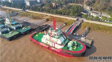 镇江船厂建造拖轮入选年度国际十大开创性拖轮