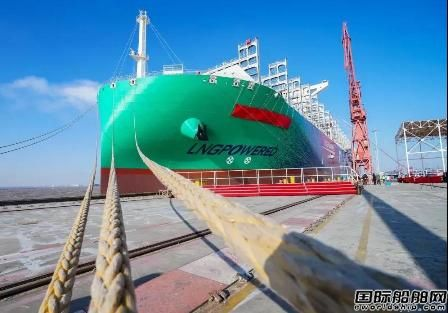 沪东中华命名达飞第3艘23000TEU双燃料集装箱船