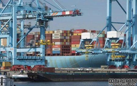 马士基乐观预测:欧洲封锁未影响市场运价将继续上涨