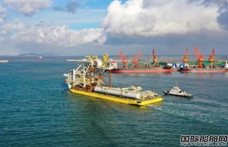 蓬莱巨涛交付ENI墨西哥湾FPSO系泊支撑和钢臂结构项目