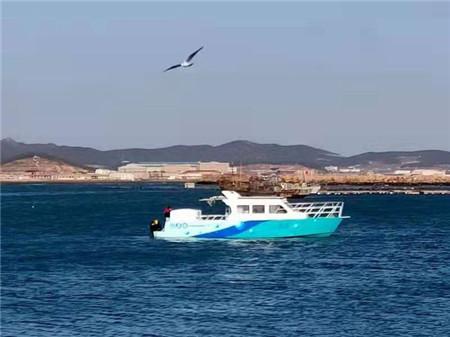 中国第一艘燃料电池游艇在大连海事大学研发成功