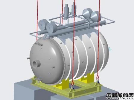 广船国际联合海兰信打造中国首个海底数据舱揭幕