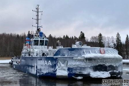Danfoss Editron助力芬兰新型可拆卸船艏破冰船