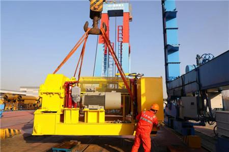 南通传动三项目绞车完成重载试验