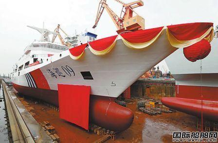 我国自主研制首艘万吨级海巡船将于年中正式列编