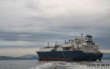 三星重工交付GasLog一艘17.4万方LNG船