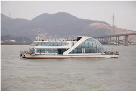 七一二所纯电动力系统助力珠江纯电动船试航成功