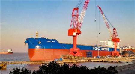 舟山中远海运重工完成中远海运散运两艘船修理改装工程