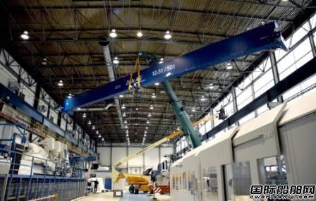 肖特尔Wismar工厂升级起重机系统投入运营