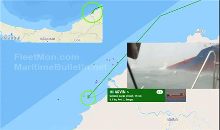 乌克兰一船黑海沉没6人获救3人遇难3人失踪