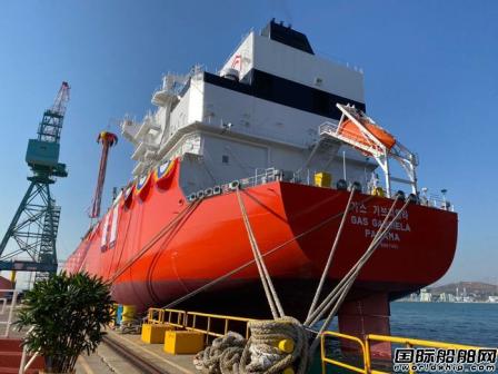 现代重工接获KSS海运1艘双燃料VLGC订单
