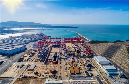 大连中远海运川崎转型升级开启智能造船5G时代