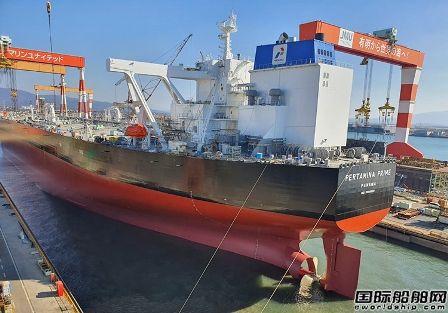 JMU为Pertamina建造第二艘VLCC开始海试