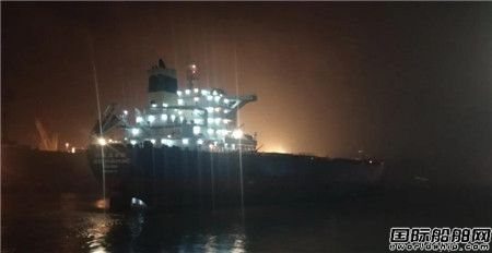 上海中远海运重工五船同日开航实现新年又一个开门红