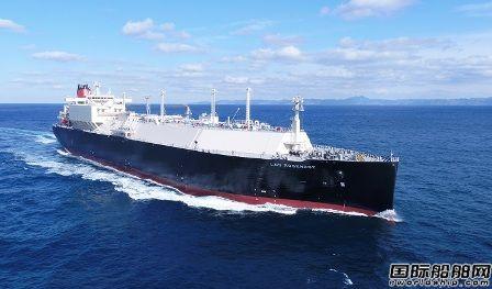 大宇造船交付商船三井一艘18万立方米LNG船