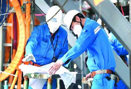 江南造船逾七成员工留沪过年为防疫贡献一份力量