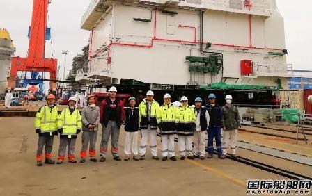 启东中远海运海工M020发电机模块顺利交付