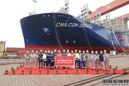 沪东中华同日完成一船出坞一船上船台节点