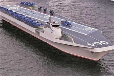 俄公布新一代航母设计方案
