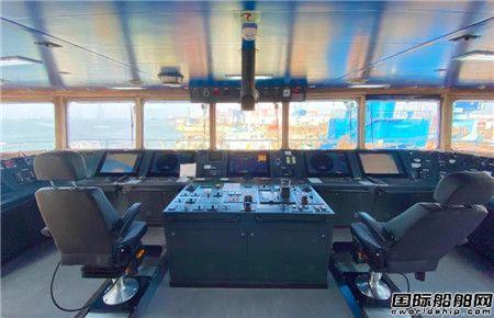 扬州金陵船厂首制3600吨不锈钢化学品顺利交付