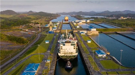 58艘!过境巴拿马运河的LNG运输船创月度新高