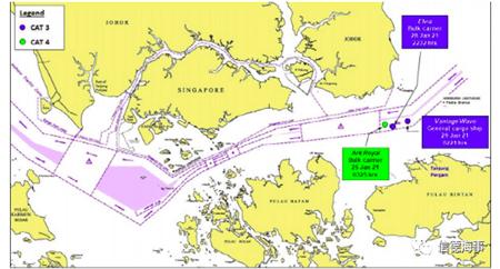5天内3艘船在新加坡海峡遭遇海盗登船
