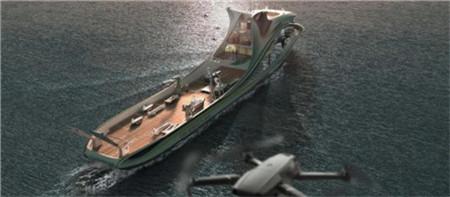 七�四所为智能型无人系统母船提供科考支撑装备
