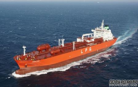 再获2艘!现代尾浦造船成全球中型LPG船建造市场王者
