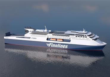 霍尔将为Finnlines高端客滚船旗舰船设立新标准