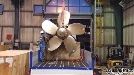 法国海军集团研制全球最大金属材质3D打印螺旋桨获BV认证
