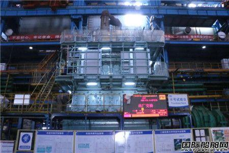 中国船柴青岛总装厂节前交付两台主机圆满完成任务