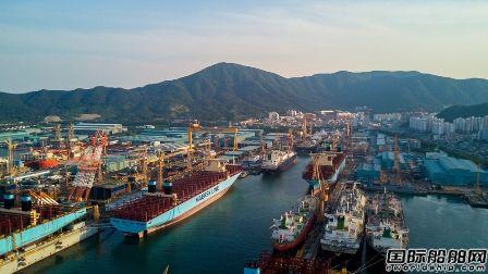 6亿美元!大宇造船再获4艘15000TEU集装箱船订单