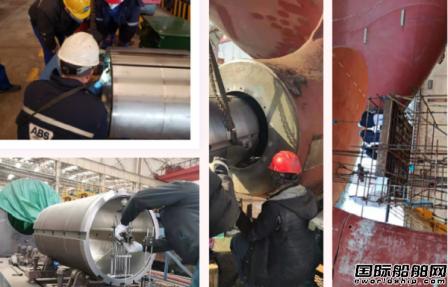 武船集团春节期间多型产品开工